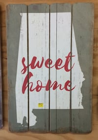 Sweet Home Alabama wood sign