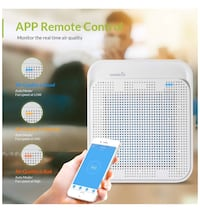 Brand New Air Purifier with HEPA Filter can be smart