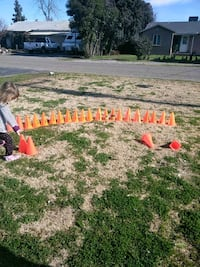 Safety cones $3 all  Merced
