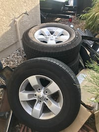 Stock ram 1500 wheels and tires  Las Vegas, 89141