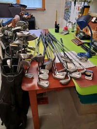 Large collection OF GOLF CLUBS Aston, 19014