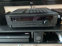 Complete DTS Dolby Digital surround sound system with Kenwood sub