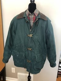 Green Winter Coat Large Mens