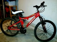 """Youth 18 SPD mountain bike 24""""tires Langley, V3A"""