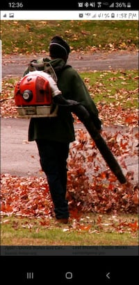 Leaf blowing/ gutter cleaning