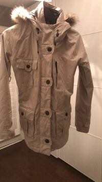 brown button-up coat Toronto, M9C 3Z4