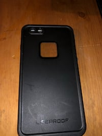 Black life proof case for IPhone  941 mi