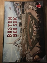 A Boston Red Sox poster