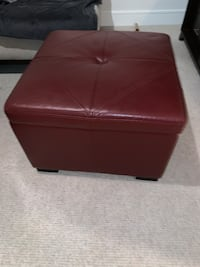 Pier one leather ottoman with storage  Washington, 20003