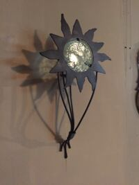 Sun wall sconce candle holder MINNEAPOLIS