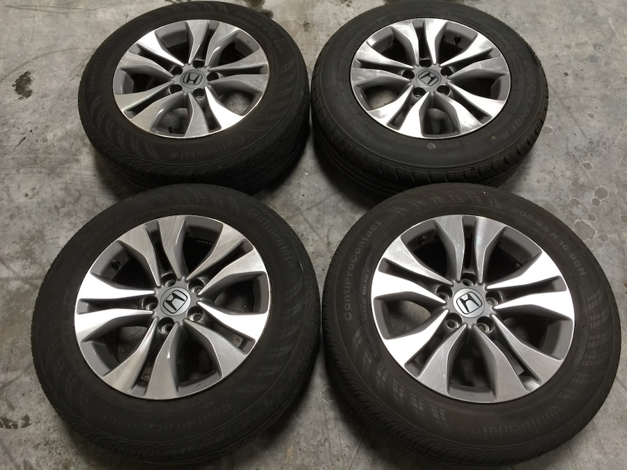 used 2015 oem honda accord sport edition 16 rims with tires in el monte. Black Bedroom Furniture Sets. Home Design Ideas