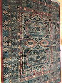 "5'3""x7'6"" Red area rug Bethesda, 20814"
