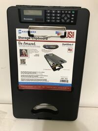 STORAGE CLIPBOARD WITH CALCULATOR NEW Downey, 90242