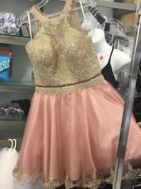 Gold and light pink prom/graduation/formal e Mississauga