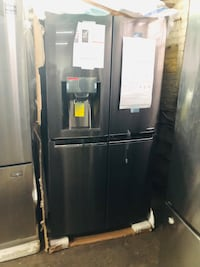 black french door refrigerator with dispenser Franklin Lakes, 07417