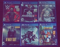 CHEAP PS4 GAMES!!!! Surrey, V3W 2N5