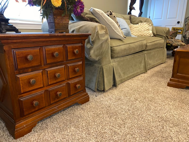 Full Living Room Set Minimally used Everything you see 478b11f9-8614-4331-ba03-bd1f179fdec8