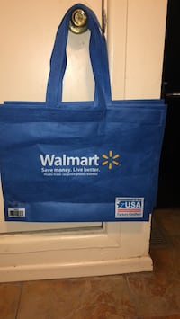 Brand New 3 Walmart Shopping Bags Little Rock, 72204