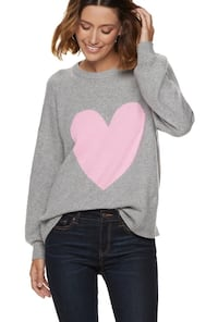 Pink Heart Sweater College Station, 77840