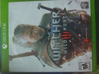 The Witcher Wild Hunt Xbox One game case null