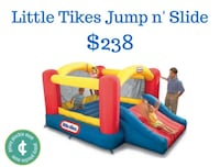 baby's blue and red Little Tikes inflatable pool Salt Lake City, 84107