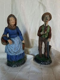 two man and woman ceramic figurines London, N6K 1N4