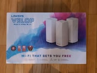 *New* Linksys Velop 3 Pack *Unopened NEW* in Arlington Arlington, 22207
