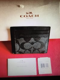 grey and black coach monogram wallet American Canyon, 94503