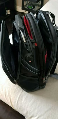 black and red Swiss backpack Vaughan, L4H 2B4