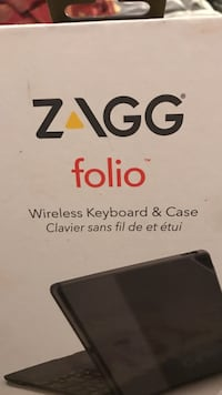 zagg folio wireless keyboard & case box Annandale, 22003