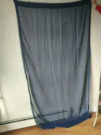 2 Navy Curtains. Guelph