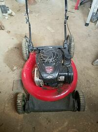 red and black push lawnmower Owings Mills