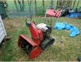 Honda snowblower trade