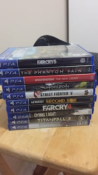 PS4 games Brampton, L6S 2N6