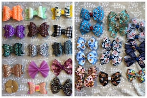 Boutique bows and wraps for baby!