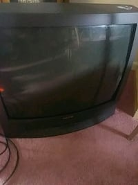 black CRT TV with remote Augusta, 30909