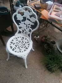 Metal chair  Tyler, 75703