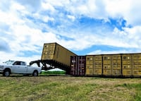 Shipping Containers - 1 trip & used - with warranties & delivery