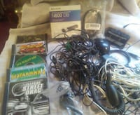 old computer games and cords, misc Heiskell, 37754