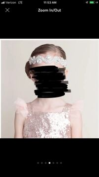 Crystal Rhinestone Hair Accessories (2) -Perfect flower girl 580 mi