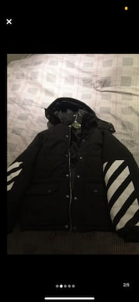 Off white jacket can trade