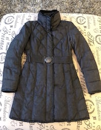 Gorgeous in Grey Belted down Warm Jacket : Size XS Richmond Hill, L4S 2V4