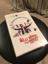 Vintage 1994 Original Release Willy Wonka and the Chocolate Factory VHS Tape Mobile, 36619