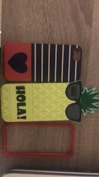 three assorted-color iPhone cases 3723 km