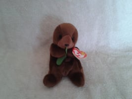 Ty Beanie Baby Seaweed the Otter