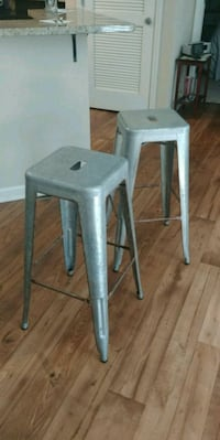 two gray wooden bar stools Montgomery, 36106