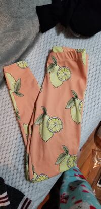 Lemon print leggings xs  CAMBRIDGE