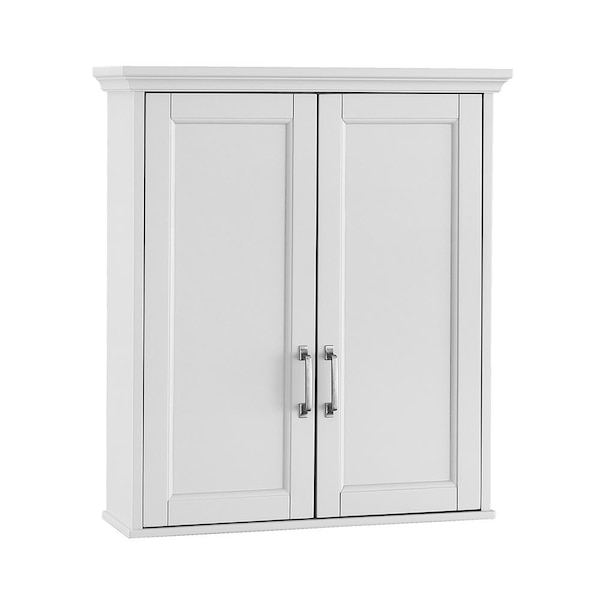 See Comm Foremost Ashburn Bathroom Storage Wall Cabinet In White