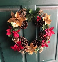red and yellow flower wreath 2348 mi