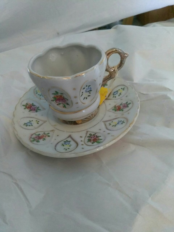 made in occupied Japan cup and saucer
